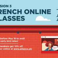 I'm staying home and learning French!