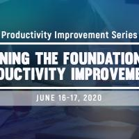 Learning the Foundation of Productivity Improvement