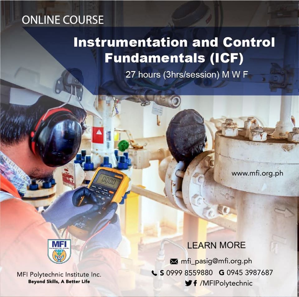 Instrumentation And Control Fundamentals (ICF) - Online Course