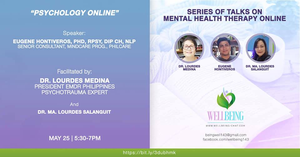 Series of talks on Mental Health Online Therapy