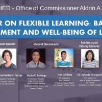 Webinar on Flexible Learning: Balancing Achievement & Well being