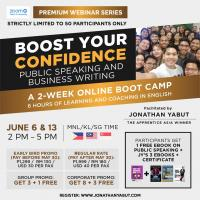 Boost Your Confidence: 2 Week Online Boot Camp