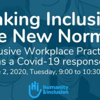 Making Inclusion the New Normal