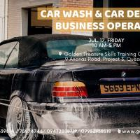 Car Wash and Car Detailing Business Operation Seminar