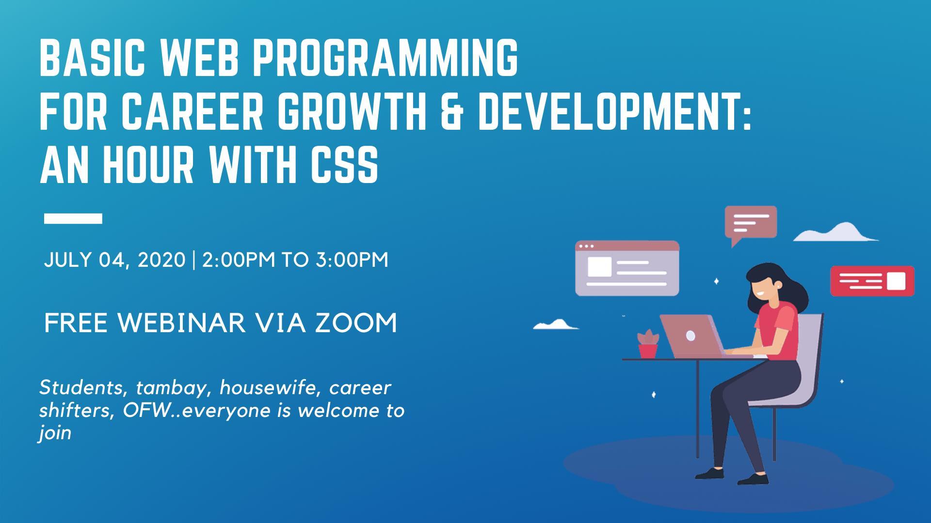 Basic Web Programming for Career Growth & Development: CSS