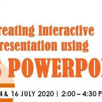 2-DAY Creating Interactive Presentation using MS Powerpoint