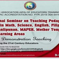 International Webinar on Pedagogical Approaches in all subject