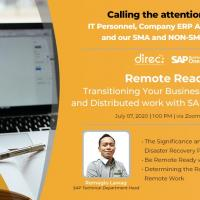 Free Webinar: Remote Ready: Transitioning Your Business