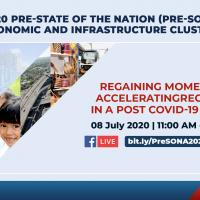 2020 Pre-SONA Forum of the Economic Dev't and Infra Clusters
