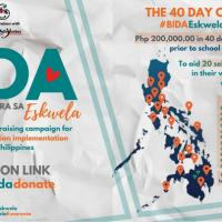 Volunteer group launches 'BIDA Eskwela' to raise P200K in 40-days for poor schools nationwide