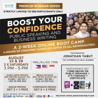 Premium Webinar: Boost Your Confidence Batch 4