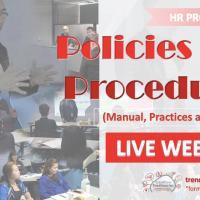 HR 102 Policies and Procedures Webinar