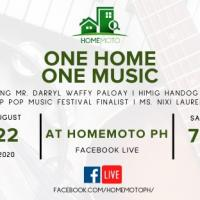 One Home One Music FB Live Event
