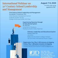 Int'l Webinar On 21st Century School Leadership & Management