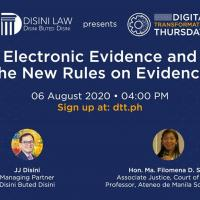 Electronic Evidence and the New Rules on Evidence
