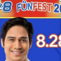 Piolo Pascual is SUPER8 Funfest's Newest Superstar!