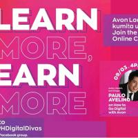 Learn More and Earn More, Go Online with Avon