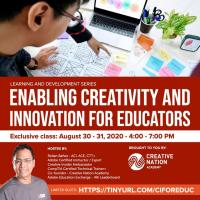 Enabling Creativity and Innovation for Educators