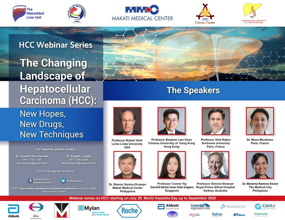 Hepatocellular Carcinoma (HCC) Webinar Series
