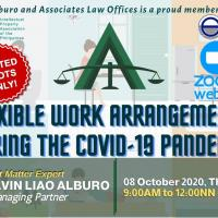 Flexible Work Arrangements during the Covid-19 Pandemic