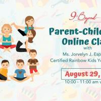 Parent-Child Yoga Online Class for children aged 5-10 years old