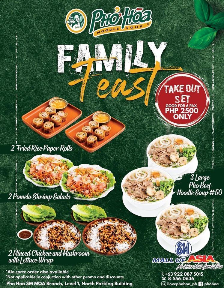 PHO HOA Family Feast