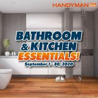 Bathroom and Kitchen Essentials