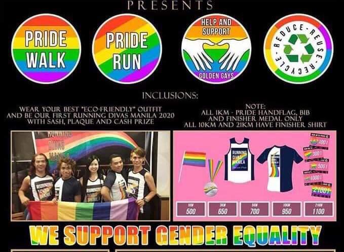 Pride Run Manila