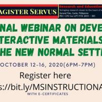 Education instructional materials