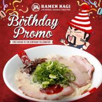 Ramen Nagi Birthday Promo