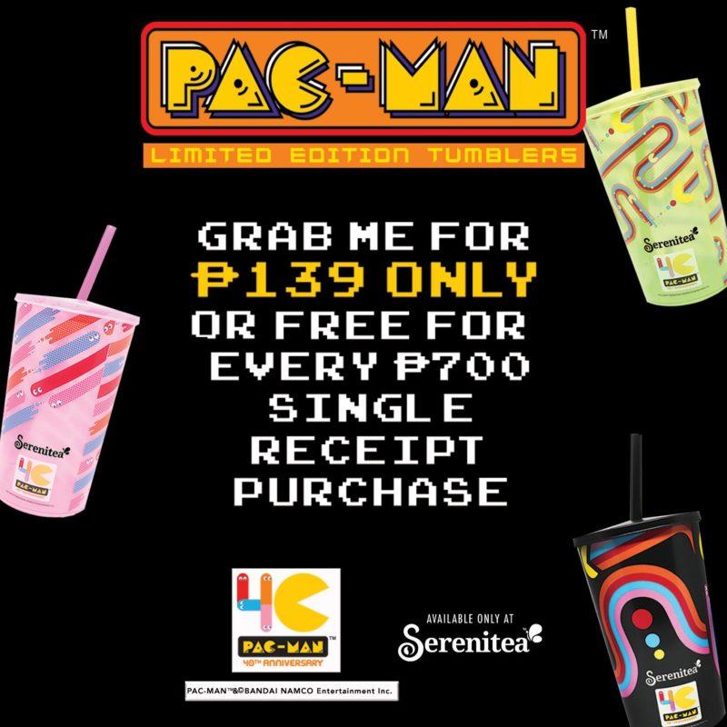 Serenitea FREE Pac-Man Tumbler