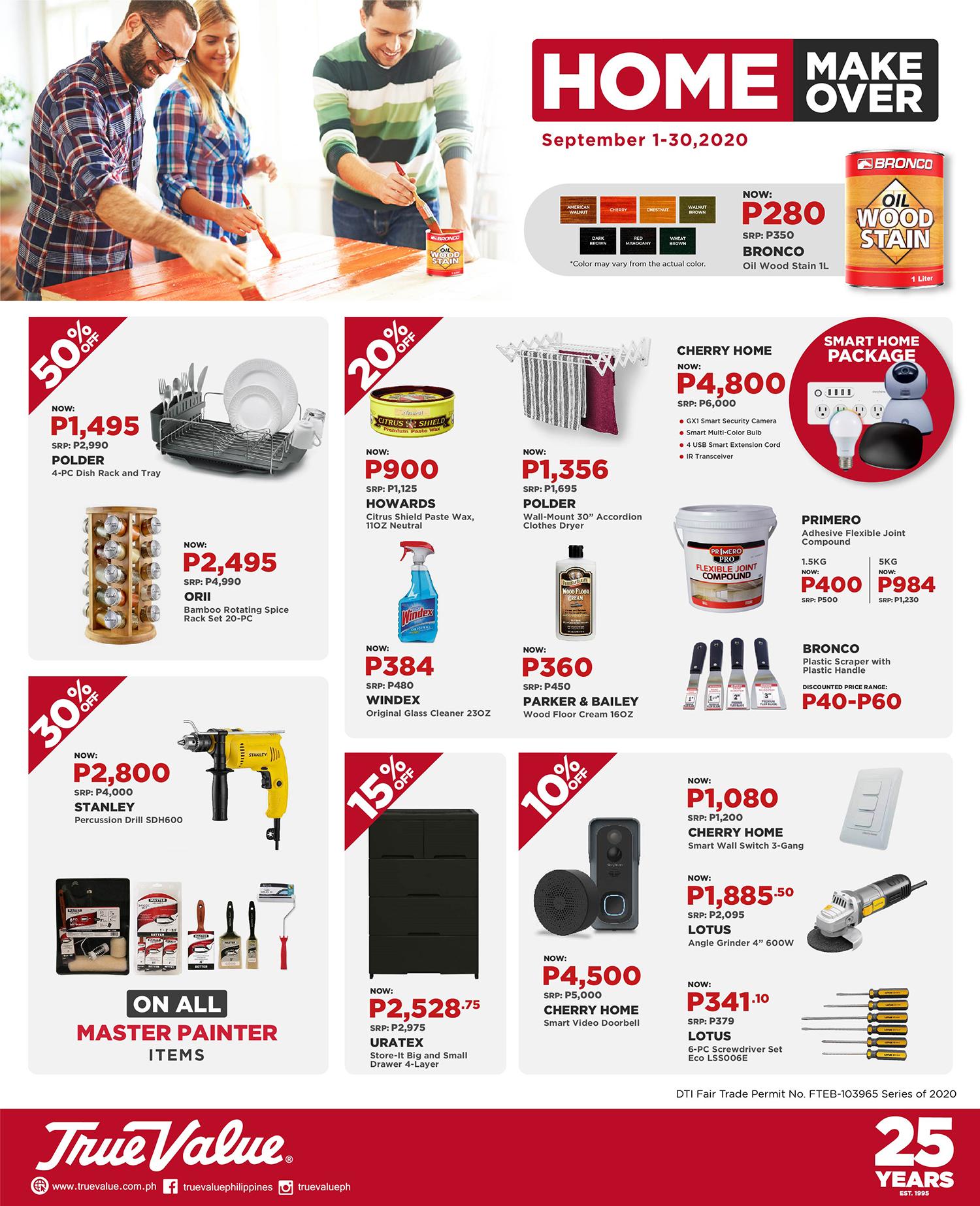 True Value Home Makeover Sale