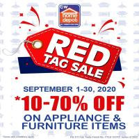 CW Home Depot Red Tag Sale