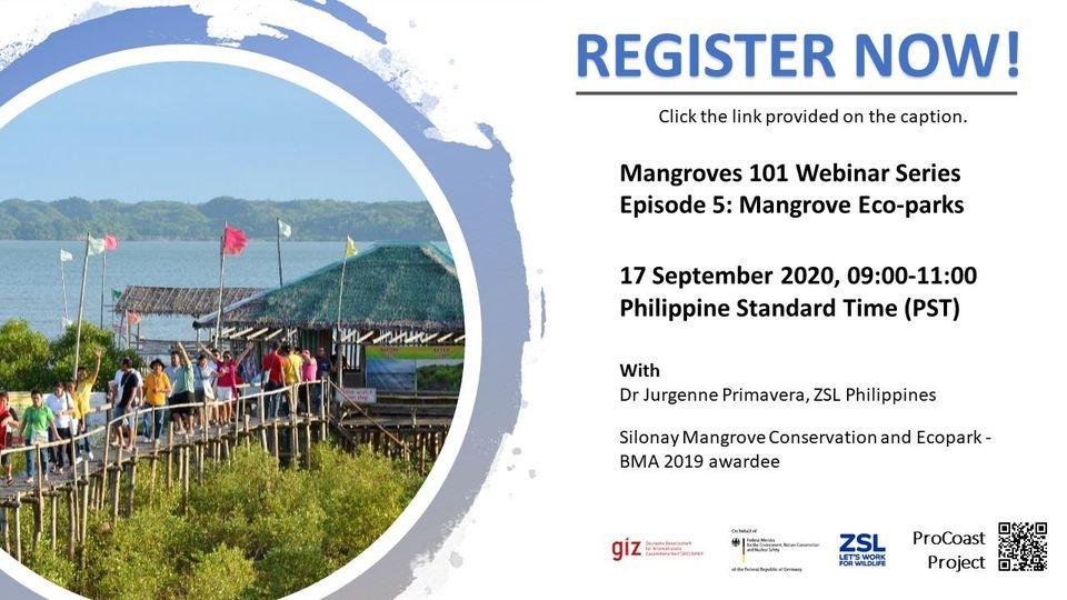 Mangroves 101 Webinar Series Episode 5