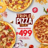 Pizza Hut Triple Pizza Treat