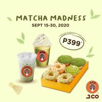 J.CO Matcha Madness Promo