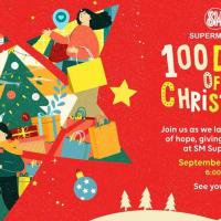 """SM Supermalls """"100 Days of Christmas"""" Virtual Launch Party"""