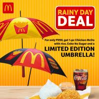 McDonald's Rainy Day Deal