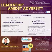 Webinar on Leadership Amidst Adversity