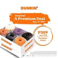 Dunkin' Donuts Premium Deal