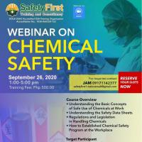 Webinar Training on Chemical Safety