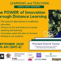 The POWER of Innovation Through Distance Learning