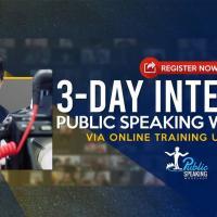 Public Speaking Workshop - Online (Wave 8)
