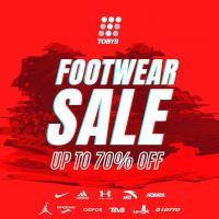Toby's Sports Footwear Sale