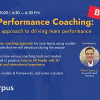 Team Performance Coaching: a pragmatic approach to driving team performance