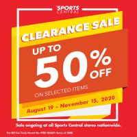 Sports Central Clearance Sale
