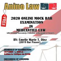 Mock Bar Examination in Mercantile Law