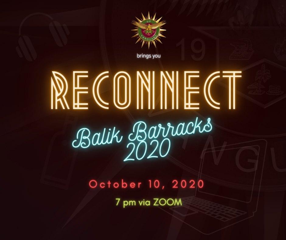 RECONNECT: BALIK BARRACKS 2020