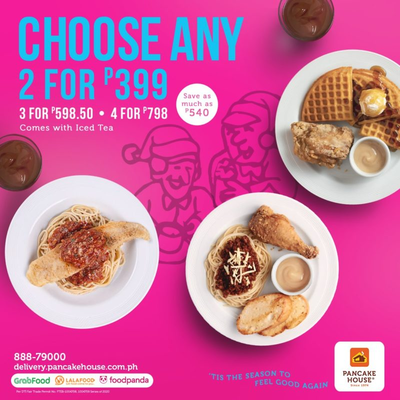 Pancake House Choose Any Two Promo