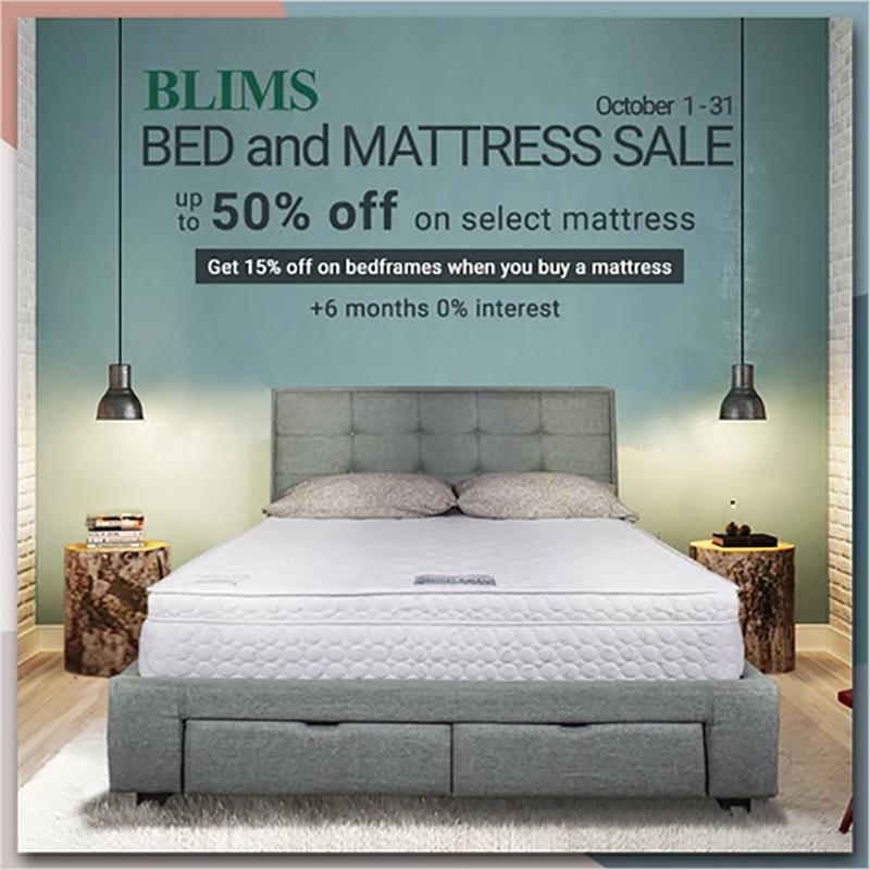 BLIMS Bed & Mattress October Sale